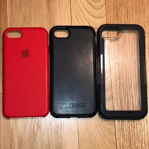 Other - iPhone 7/8 Case bundle